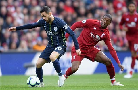 Liverpool vs Man City Silva vs Wijnaldum