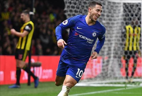 Dư âm Watford 1-2 Chelsea Sử sách điền tên Eden Hazard hình ảnh