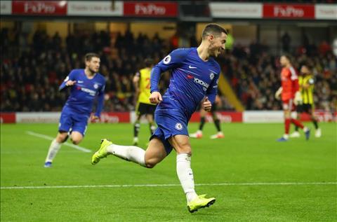 Hazard cua Chelsea toa sang truoc Watford
