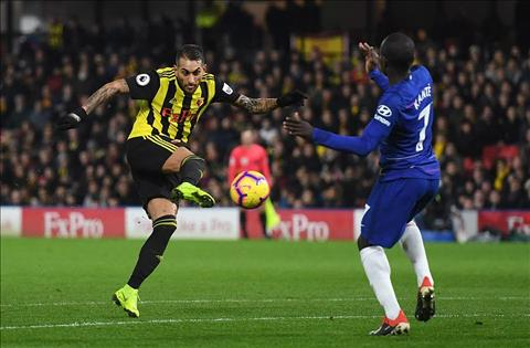 Chelsea thang Watford Pereyra ghi ban