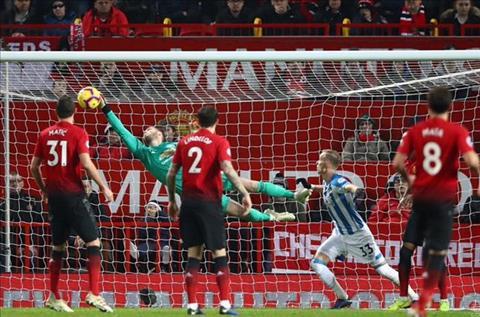 HLV Solskjaer trao vinh dự cho De Gea trong trận gặp Huddersfield hình ảnh
