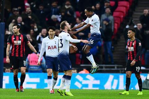Kết quả Tottenham vs Bournemouth bóng đá Ngoại hạng Anh 20182019 hình ảnh