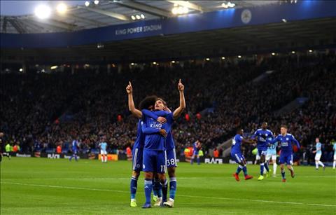 Những thống kê ấn tượng sau trận đấu Leicester 2-1 Man City hình ảnh