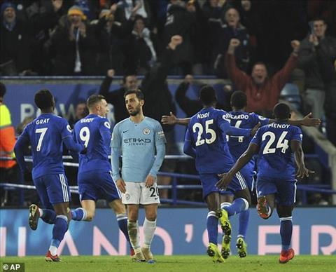 Bernardo Silva phát biểu trận Man City vs Leicester hình ảnh