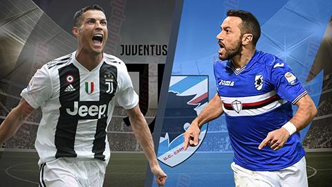 Juventus vs Sampdoria 18h30 ngày 2912 (Serie A 201819) hình ảnh