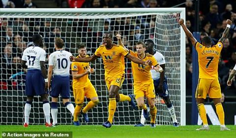 Wolves nguoc dong danh bai Tottenham 3-1
