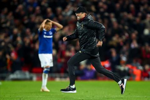HLV Klopp ăn mừng trận Liverpool vs Everton thiếu tôn trọng hình ảnh