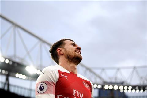 PSG đàm phán mua Aaron Ramsey vào tháng 1 năm 2019 hình ảnh