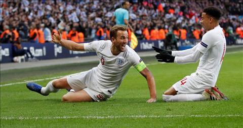 Doi tuyen Anh lot vao ban ket UEFA Nations League