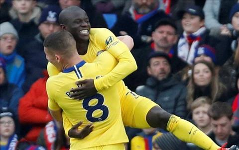 Dư âm Crystal Palace 0-1 Chelsea Phiên bản nâng cấp của Kante hình ảnh