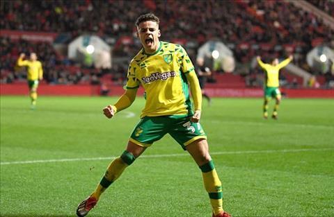 Arsenal muốn mua Max Aarons của Norwich hình ảnh