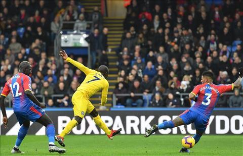 Chelsea thang Palace Kante ghi ban