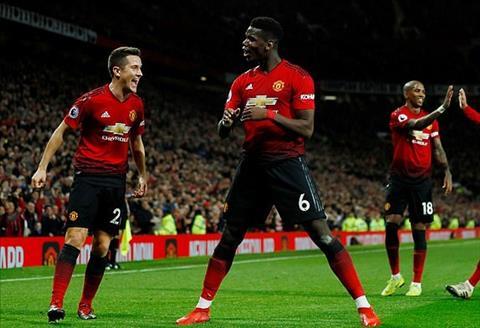 Tiền vệ Pogba trận MU vs Huddersfield được ngợi ca nhiệt liệt hình ảnh