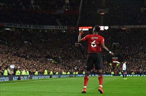 M.U 4-1 Bournemouth Pogba toa sang tai Old Trafford