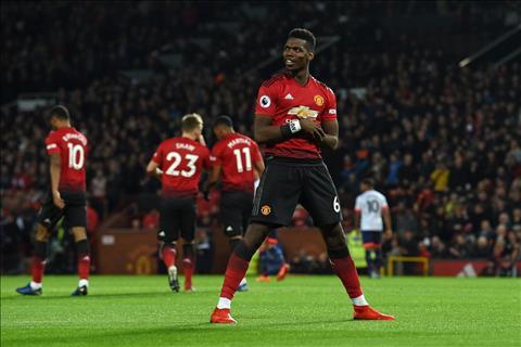 Paul Pogba liên tục ghi bàn, Mourinho cũng phải ngứa mắt hình ảnh