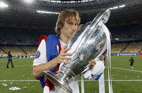 Modric gianh Champions League