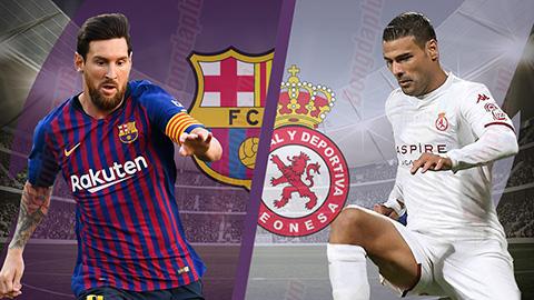 Barcelona vs Leonesa 3h30 ngày 612 (Cúp Nhà vua TBN 201819) hình ảnh