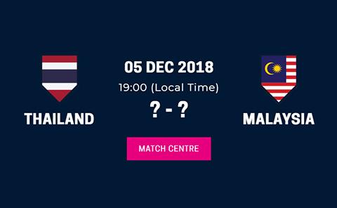 Link xem trực tiếp Thái Lan Malaysia bán kết AFF Suzuki Cup 2018 hình ảnh