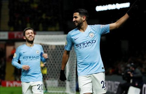 Tiền vệ Mahrez của Man City đánh giá cao Arsenal và Chelsea hình ảnh