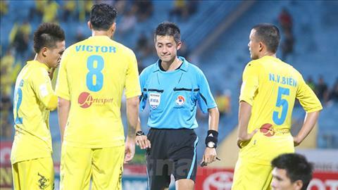Trọng tài bắt chính trận lượt về giữa Việt Nam vs Philippiné hình ảnh
