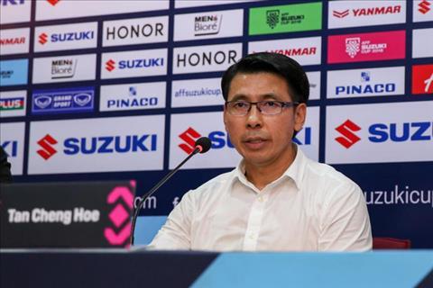 HLV Tan Cheng Hoe không ngại đối đầu ĐT Việt Nam tại chung kết hình ảnh
