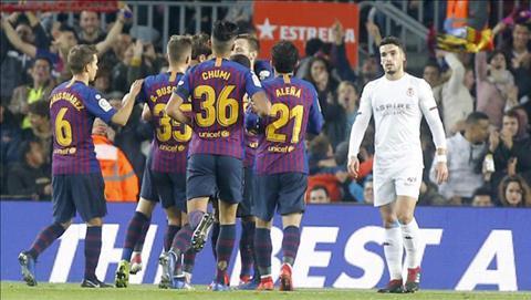 Kết quả Barca vs Leonesa kết quả Cúp nhà vua TBN 201819 hôm nay hình ảnh