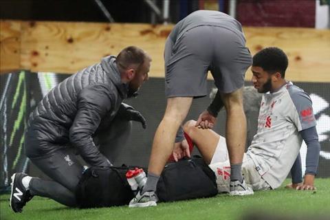 Liverpool đón tin dữ Joe Gomez chấn thương sau trận gặp Burnley hình ảnh
