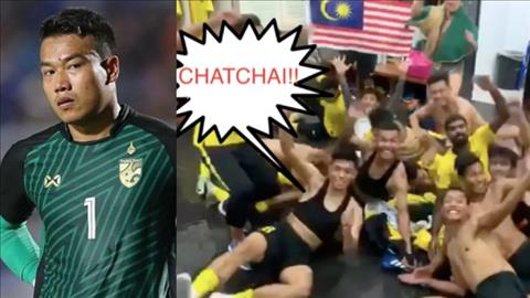 Các tuyển thủ Malaysia ra sức troll thủ môn Thái Lan hình ảnh
