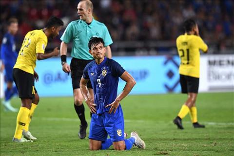 Tien dao ghi nhieu ban thang nhat o giai lan nay, Adisak Kraisorn gui loi xin loi toi toan the NHM bong da Thai Lan sau sut hong penalty khien doi nha bi loai o ban ket AFF Cup 2018.