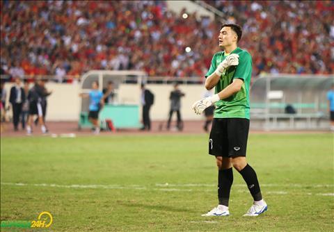 Cho den thoi diem hien tai, Dang Van Lam van la thu thanh co so lan thung luoi it nhat tai AFF Cup 2018.