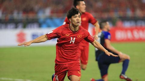 Ban thang cua Nguyen Cong Phuong tran Viet Nam 2-1 Philippines