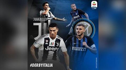Trực tiếp Juventus vs Inter Milan bóng đá Ý Serie A 2018 đêm nay hình ảnh
