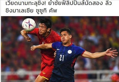 Báo Thái khen ngợi chiến thắng của Việt Nam tại bán kết AFF Cup 2 hình ảnh