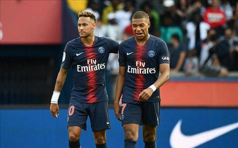 Neymar va Mbappe cua PSG