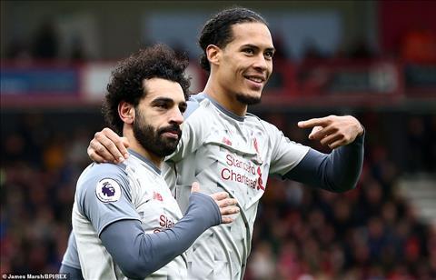 Jurgen Klopp và Eddie Howe ca ngợi Mohamed Salah hình ảnh