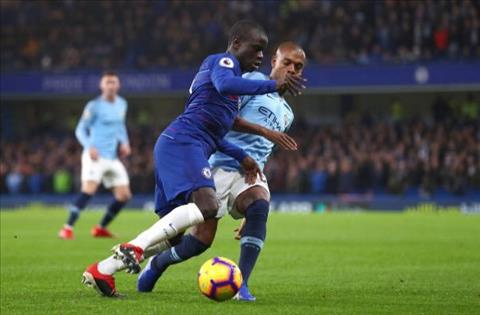 Chelsea vs Man City Fernandinho va Kante