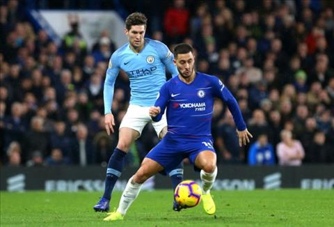 Eden Hazard nói về vị trí tiền đạo cắm ở trận đấu với Man City hình ảnh