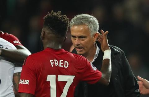 Mourinho an Fred