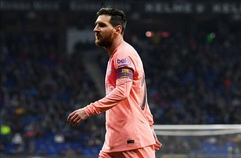 Sergio Busquets khen ngợi Lionel Messi sau trận thắng Espanyol hình ảnh