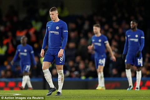Tong hop Chelsea 0-3 Bournemouth (Vong 25 Premier League 201718) hinh anh