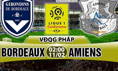 Nhan dinh Bordeaux vs Amiens 02h00 ngay 112 (Ligue 1 201718) hinh anh