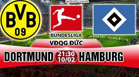 Nhan dinh Dortmund vs Hamburg 21h30 ngày 102 (Bundesliga 201718) hinh anh