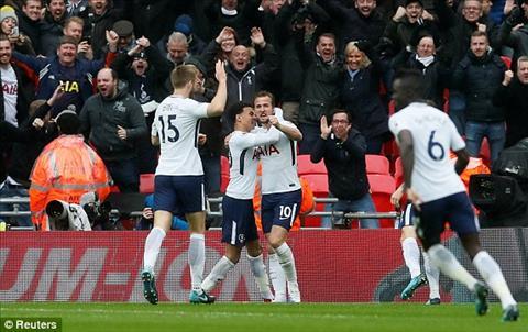 Du am Tottenham 1-0 Arsenal Hang thu tiep tuc bao hai Phao thu hinh anh