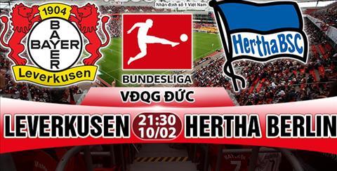 Nhan dinh Leverkusen vs Hertha Berlin 21h30 ngay 102 (Bundesliga 201718) hinh anh