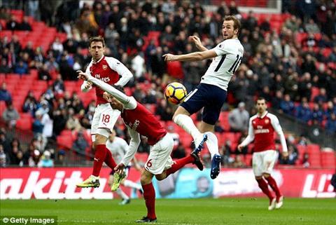 Harry Kane ghi ban duy nhat giup Tottenham danh bai Arsenal 1-0
