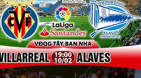 Nhan dinh Villarreal vs Alaves 19h00 ngay 102 (La Liga 201718) hinh anh