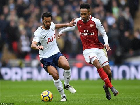 Du am Tottenham 1-0 Arsenal That vong Aubameyang va Mkhitaryan hinh anh 2