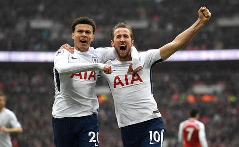 Harry Kane bi Arsenal duoi vi… beo hinh anh