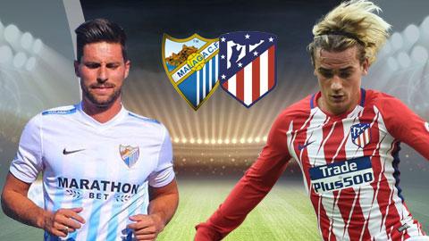 Nhan dinh Malaga vs Atletico Madrid 22h15 ngay 102 (La Liga 201718) hinh anh