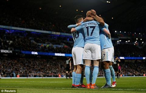 Tong hop Man City 5-1 Leicester (Vong 27 Premier League 201718) hinh anh